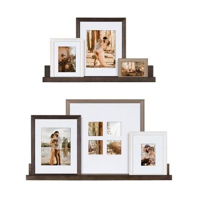 8pc Bordeaux Frame Box Set - Kate & Laurel All Things Decor