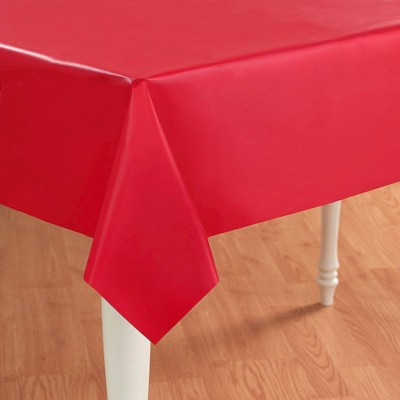 Red Rectangle Tablecover