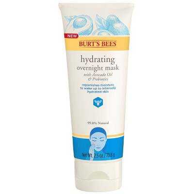 Facial Treatments: Burt's Bees Hydrating Overnight Mask