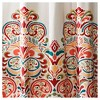 Clara Shower Curtain Turquoise - Lush Décor - image 3 of 3