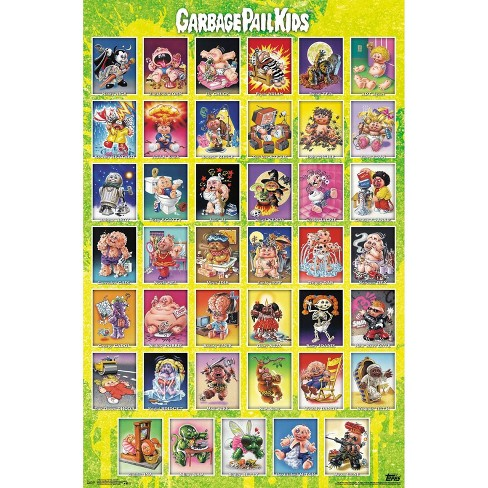"34""x23"" Garbage Pail Kids Season 1 Unframed Wall Poster Print - Trends International - image 1 of 2"