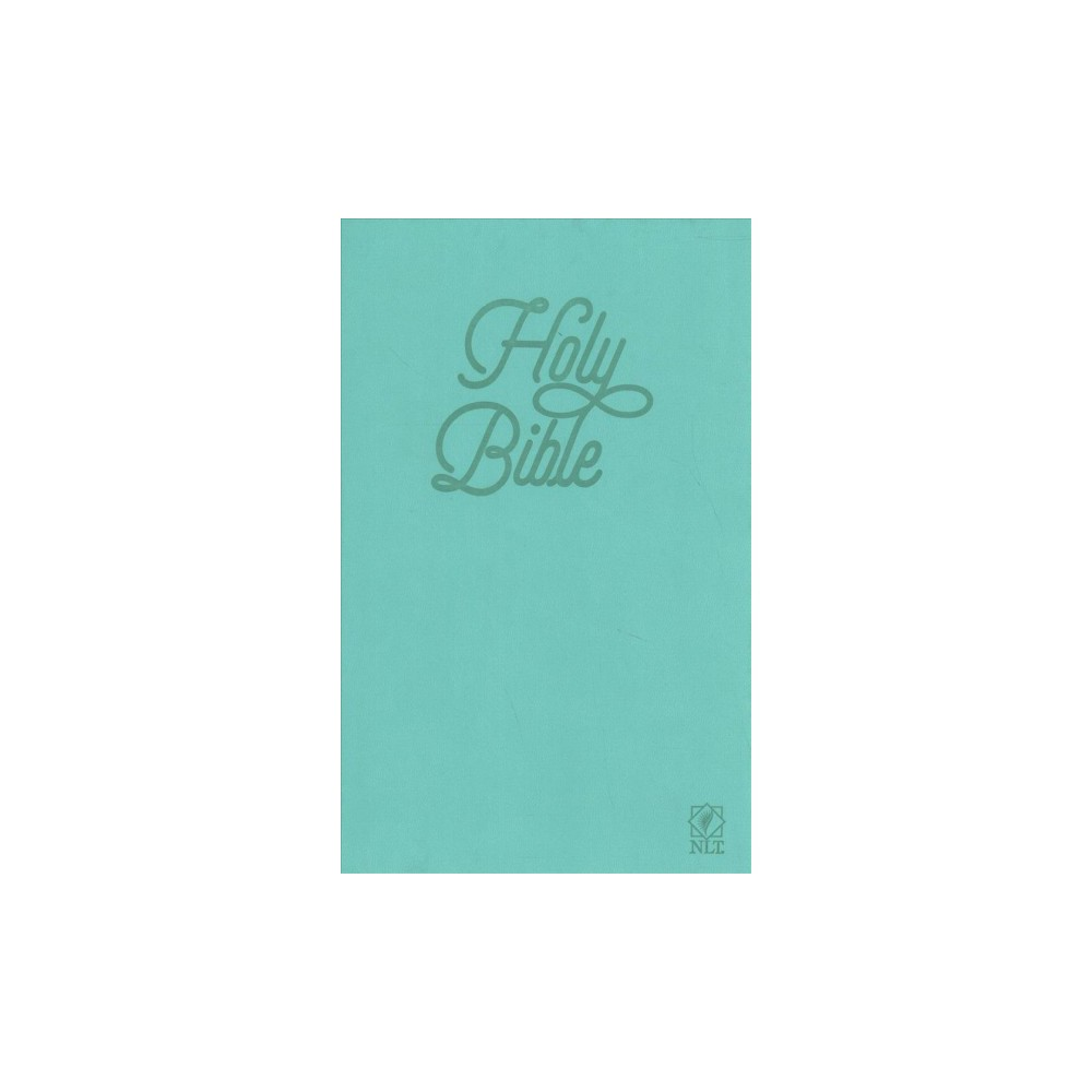 Holy Bible : New Living Translation, Teal Soft-tone Edition: Anglicized Text Version - (Hardcover)