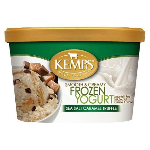Kemps Frozen Yogurt Sea Salt Caramel Truffle - 48oz - image 1 of 1
