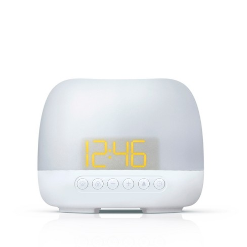 Aromatherapy Table Clock White - Capello - image 1 of 4