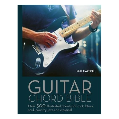 Guitar Chord Handbook Over 500 Illustrated Chords For Rock Blues