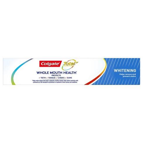 Colgate Total Whitening Gel Toothpaste - 4 8oz/2pk