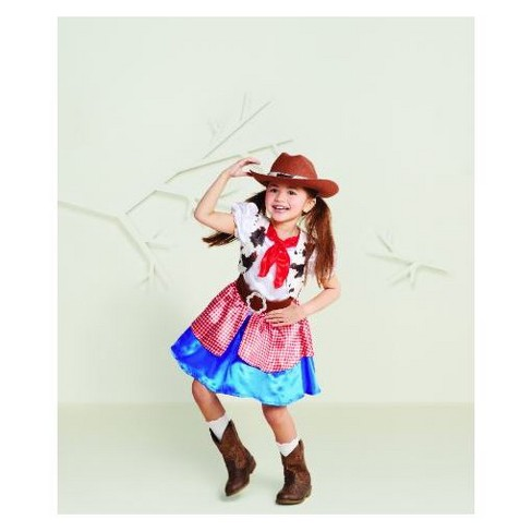 toddler girls cowgirl halloween costume hyde and eek boutique