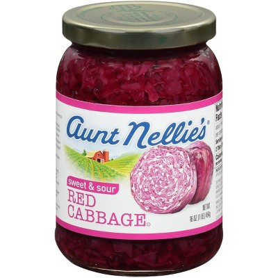 Aunt Nellie's Red Cabbage - 16oz