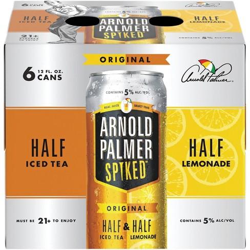 Arnold Palmer Spiked Half & Half Original Flavored Malt Beverage - 6pk/12 fl oz Cans - image 1 of 4