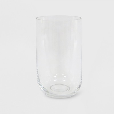 Hurricane Glass Pillar Candle Holder Clear - Made By Design™