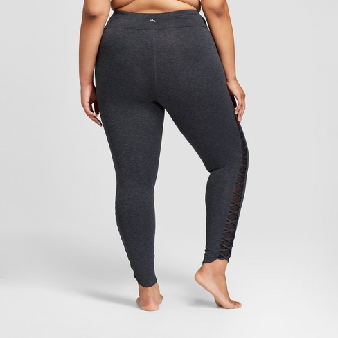 922fc4b896 Women's Plus Comfort Lattice 7/8 Leggings - JoyLab™ : Target
