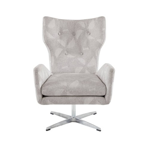 Becky Swivel Chair Light Gray - image 1 of 4
