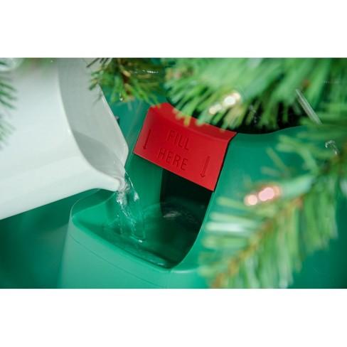 Home Logic 8ft EZ H20 Christmas Tree Stand Green : Target