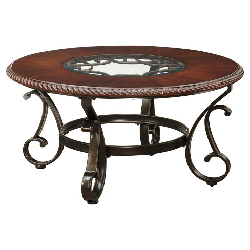 Gambrey Coffee Table - Reddish Brown  - Signature Design by Ashley - image 1 of 3
