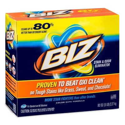 Biz Laundry Detergent Powder - 80oz