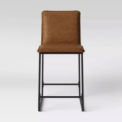 Upholstered Counter Stool with Metal Frame - Room Essentials™