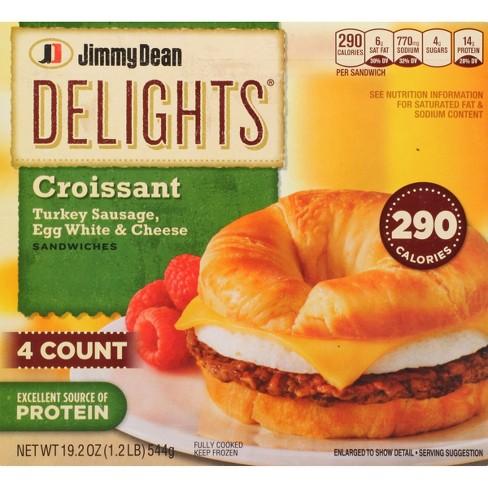 Jimmy Dean Delights Turkey Sausage, Egg