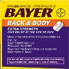 Bayer Extra Strength Back and Body Pain Reliever 500mg Caplets Tablets - Aspirin (NSAID) - 100ct - image 2 of 3