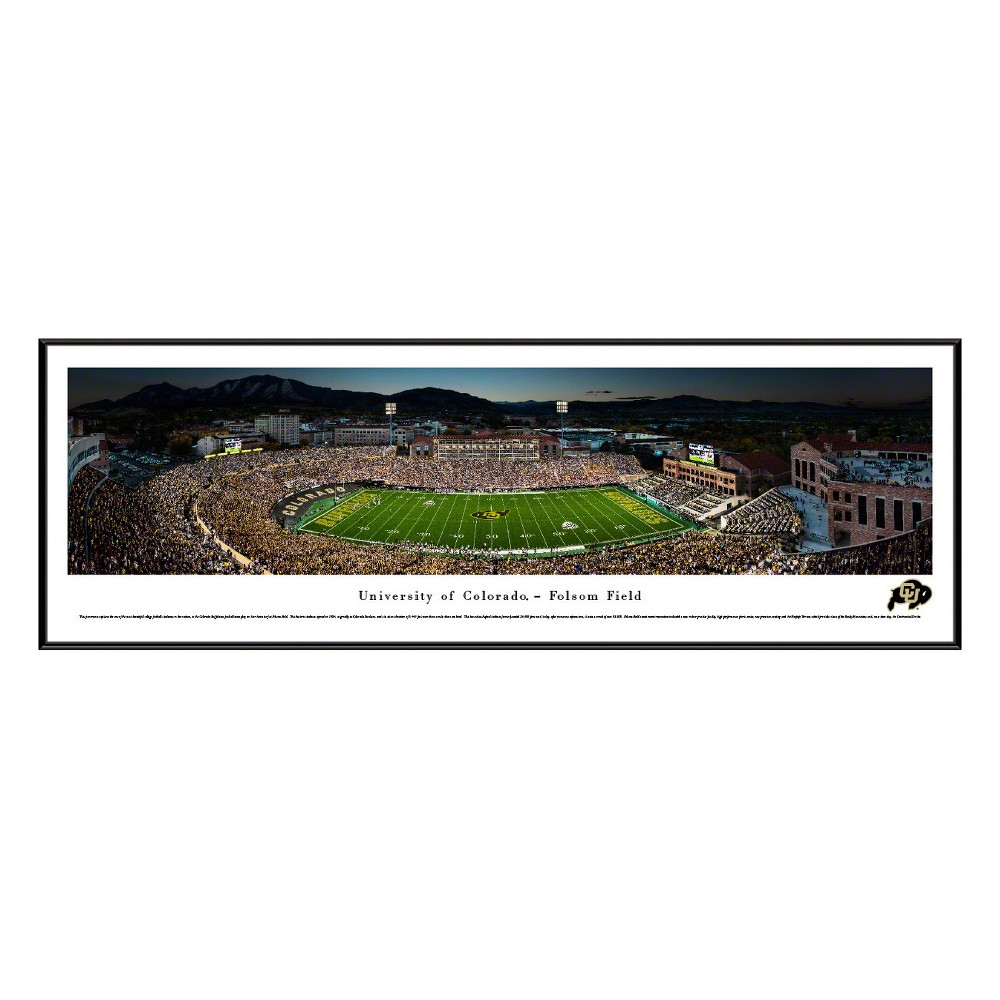 Framed Wall Poster Print NCAA .88 X 40.25 X 13.75 Colorado Buffaloes