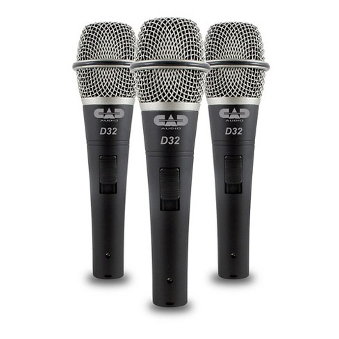 CadLive D32 Supercardioid Dynamic Handheld Microphones (3-Pack) - image 1 of 1