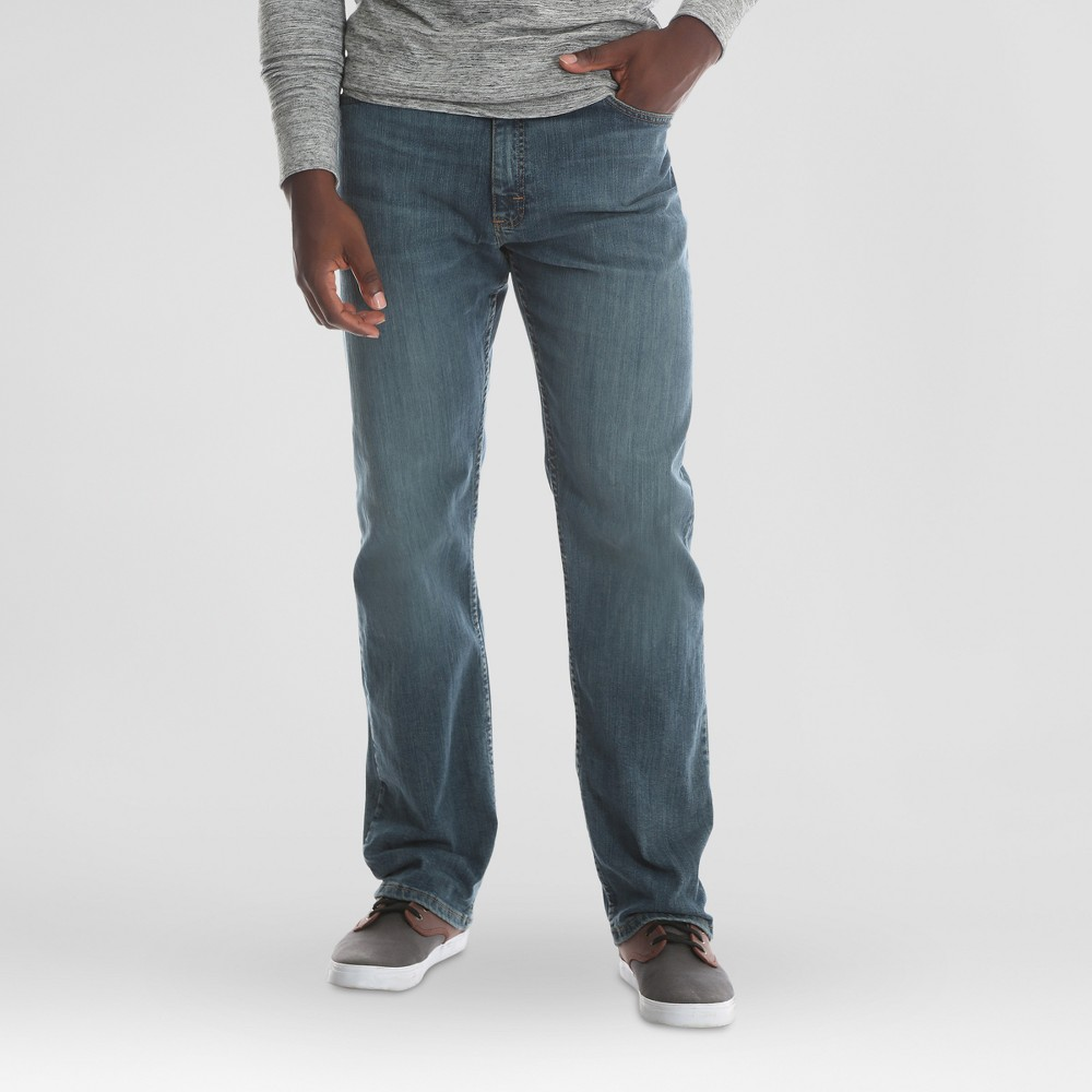 Wrangler Men's Big & Tall Relaxed Fit Jeans with Flex - Slate (Grey) 46x30