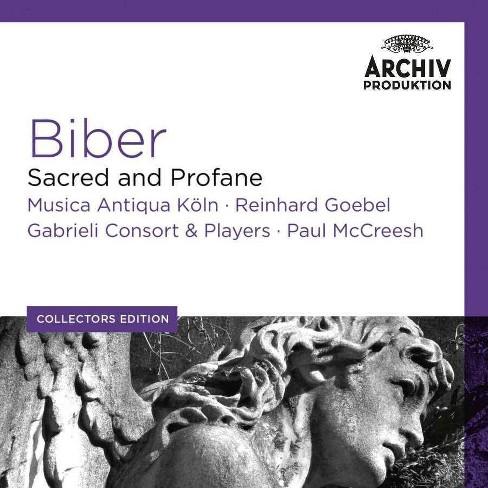 Reinhard Goebel - Collectors Edition: Biber- Sacred And Profane (CD) - image 1 of 1