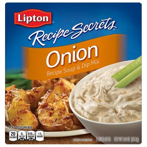 Lipton® Recipe Secrets® Soup & Dip Mix Onion 2 oz
