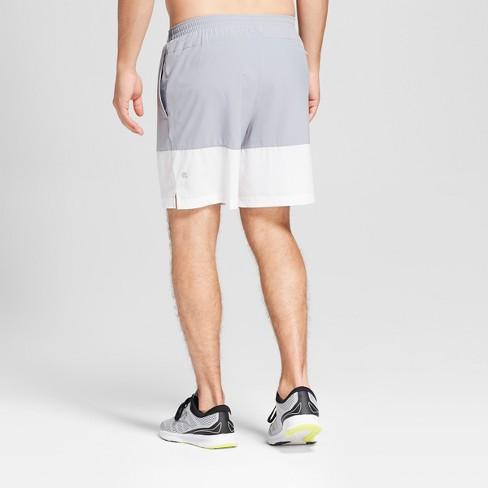 6c479cee43374 Men s Colorblock Run Shorts - C9 Champion® Concrete Grey XXL   Target