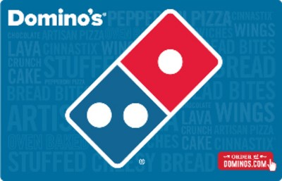 Domino's Pizza $20 (Email Delivery)