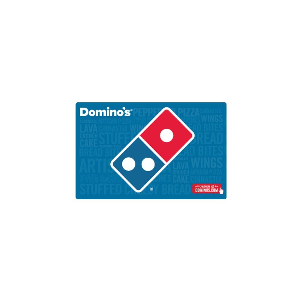 Domino's Pizza Gift Card (Email Delivery) Domino's Pizza Gift Card (Email Delivery)