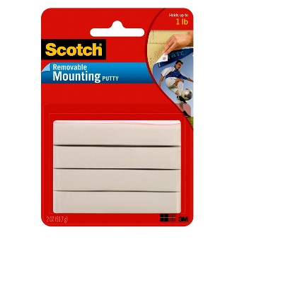 Scotch Removable Mounting Putty 2-oz.