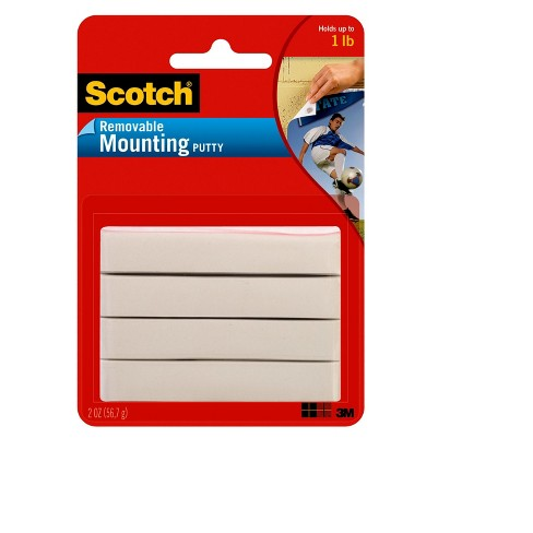 Scotch 2oz Removable Mounting Putty - image 1 of 3