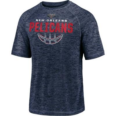 NBA New Orleans Pelicans Men's Synthetic Short Sleeve T-Shirt