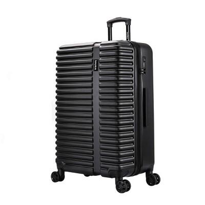 "InUSA Ally 28"" Lightweight Hardside Spinner Suitcase - Black"