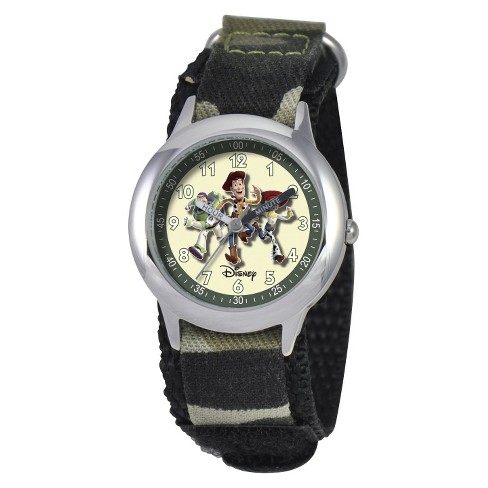 Boys' Disney Toy Story Watch Green - image 1 of 1