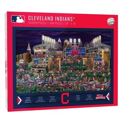 MLB Cleveland Indians 500pc Find Joe Journeyman Puzzle