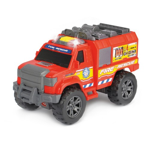 Dickie Toys - Light and Sound Motorized Fire Rescue Vehicle - image 1 of 2