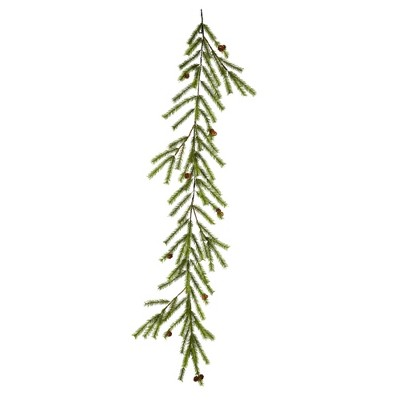 Vickerman 6' Vernon Pine Artificial Christmas Garland, Unlit