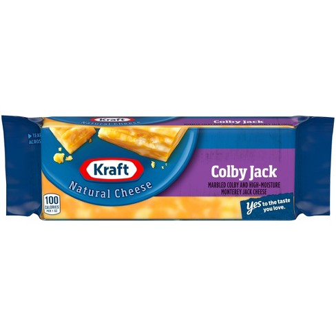 Kraft Natural Colby and Monterey Jack Cheese Block - 8oz - image 1 of 3