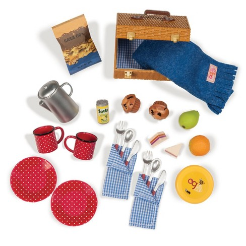 """Our Generation Packed for a Picnic - Accessory Set for 18"""" Dolls - image 1 of 3"""