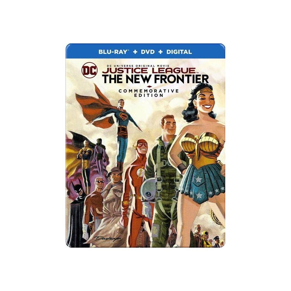 Justice League The New Frontier Blu Ray 2017