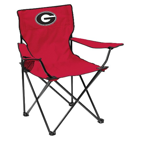 Georgia Bulldogs Quad Folding Camp Chair with Carrying Case - image 1 of 1