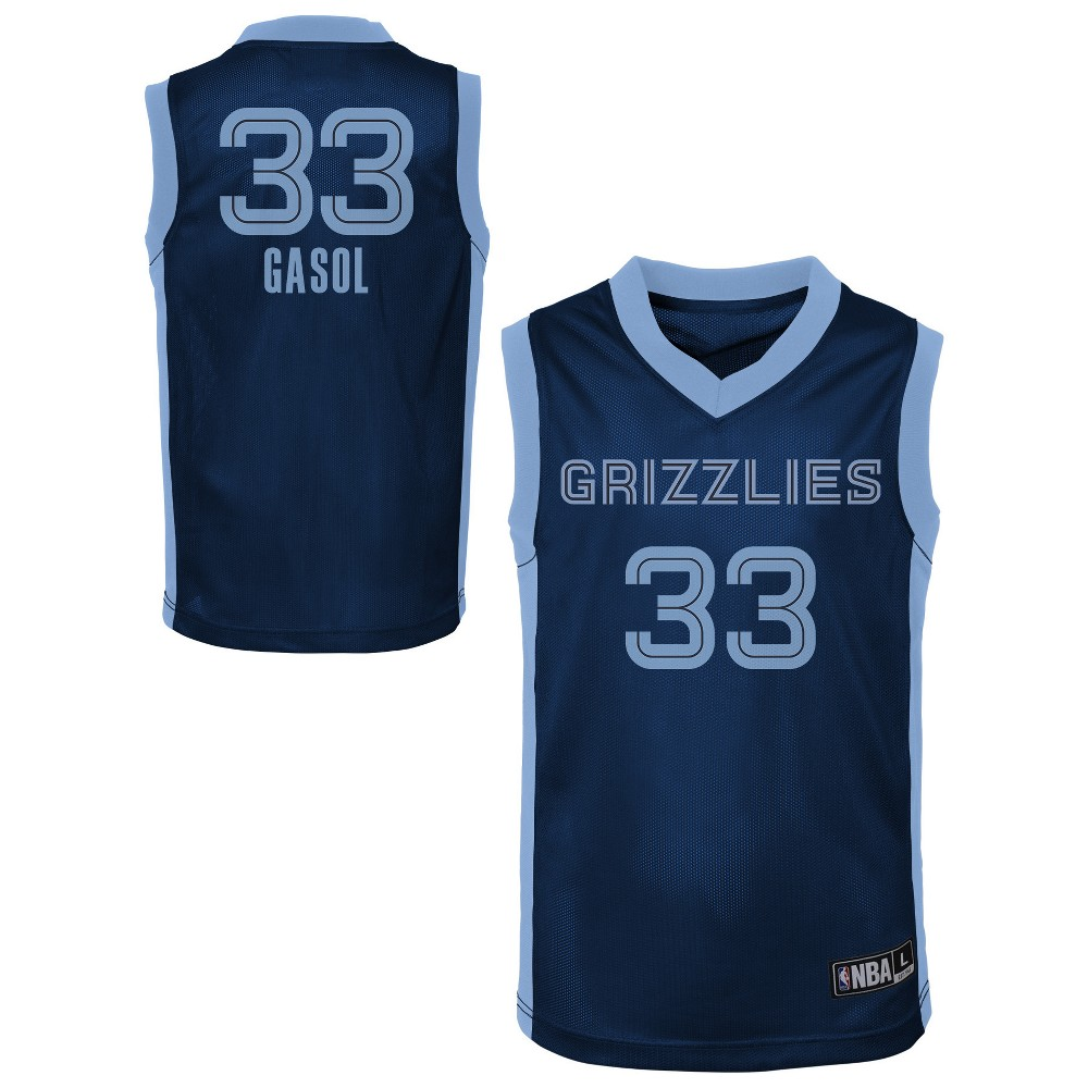 Memphis Grizzlies Toddler Player Jersey 4T, Toddler Boy's, Multicolored