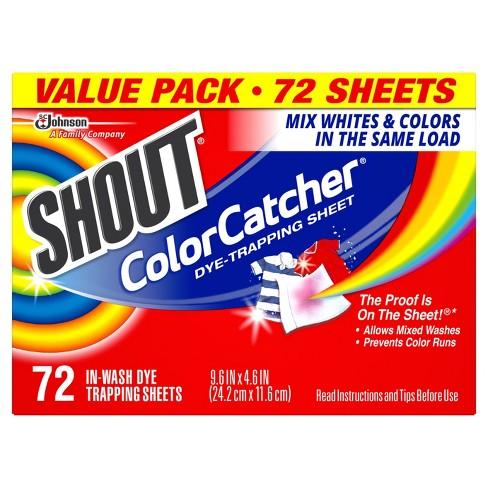 Shout Color Catcher Dye Trapping Sheets - 72ct - image 1 of 4