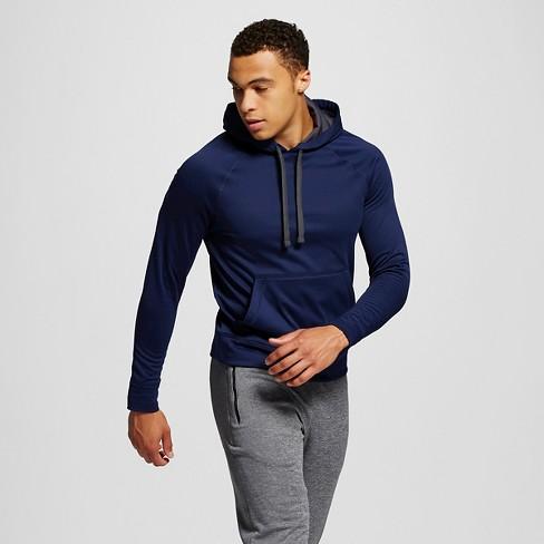 Men's Tech Fleece Pullover Hoodie - C9 Champion® Dark Blue M - image 1 of 2