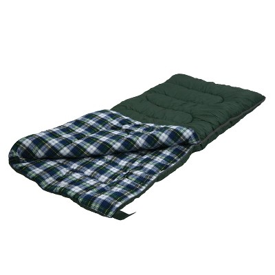 Stansport Weekender 30 Degrees Fahrenheit Sleeping Bag - Green