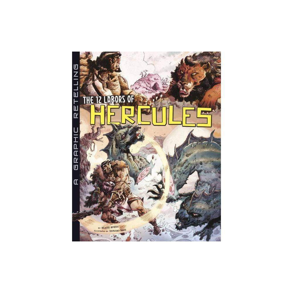 The 12 Labors Of Hercules Ancient Myths Paperback