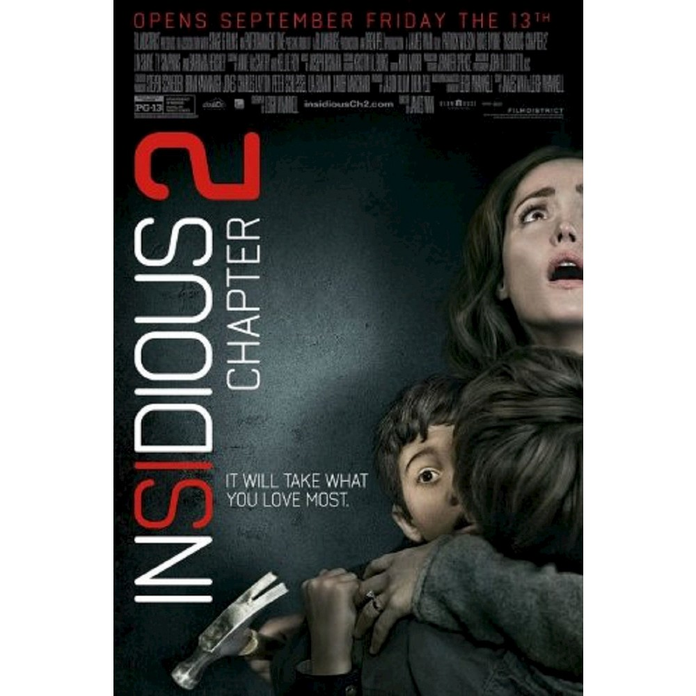 Insidious Chapter 2 (2 Discs) (Includes Digital Copy) (UltraViolet) (Blu-ray/Dvd) (W) (Widescreen)