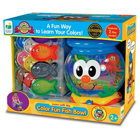 The Learning Journey Learn with Me, Color Fun Fish Bowl - image 1 of 2