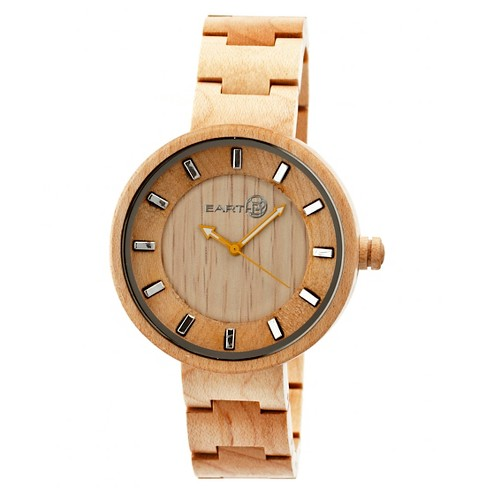 Women's Earth Root Watch with Luminous Hands-Khaki/Tan - image 1 of 3